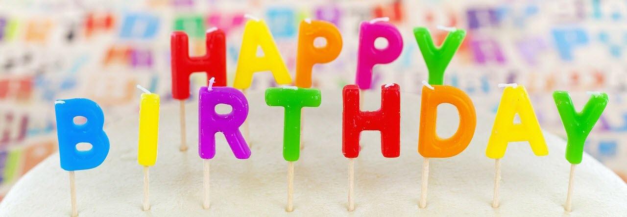 Glückwünsche zum Geburtstag header image